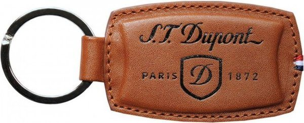 S.T. Dupont Key Ring Elysée – Brown Leather 3054