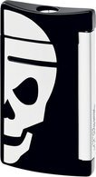 Minijet Lighter Black With White Skull