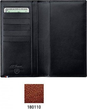 S.T. Dupont Line D Pocket Diary Cover – Brown Elysée 180110
