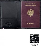 S.T. Dupont Line D Passport Cover – Black Diamond 180412