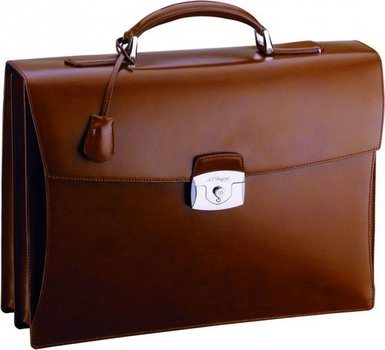 Line D Brief Case – Brown Elysée
