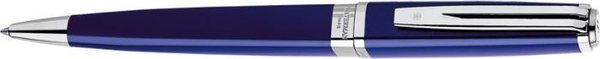 Waterman Exception Slim Twist balpen, blauwe lak/ zilveren clip